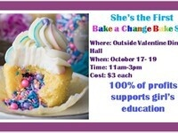 She's The First Bake a Change Bake Sale