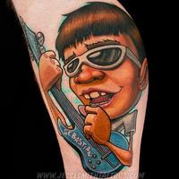 Scarytown Halloween Flash Tattoo Day