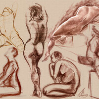 Student Figure Drawing Sessions