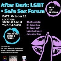 After Dark: LGBT+ Safe sex Forum