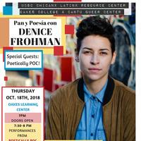 Pan y Poesia con Denice Frohman