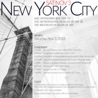 Sponsored Bus Trip to New York City | Art, Architecture & Design