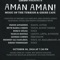 Aman Aman! Music of the Turkish & Greek Cafe