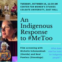 An Indigenous Response to #MeToo - Colgate Calendar