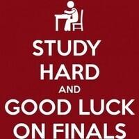 Spring final exams