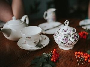 Around the World Holiday Tea Party