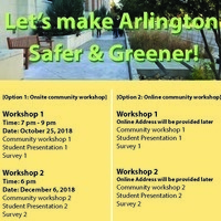 Community Workshops on Downtown Arlington—online + onsite