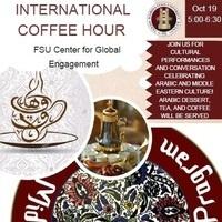 Middle Eastern International Coffee Hour