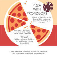 Pizza with Professors