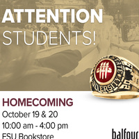 Florida State University Homecoming Ring Event