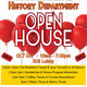 Department of History OPEN HOUSE!