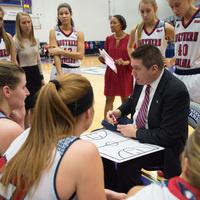 USI Women's Basketball at  Rockhurst University