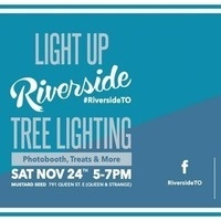 Riverside Light Up & Shop the Neighbourhood