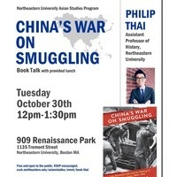 China's War on Smuggling: Book Talk by Philip Thai