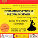 Comm + Media in Spain: Study Abroad - Cultural Experience in the GC Lawns