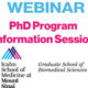 PhD Information Session Webinar: Overview of PhD Program
