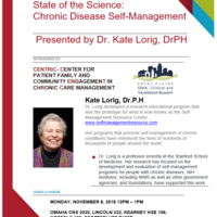 State of the Science: Chronic Disease Self-Management