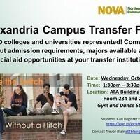 Alexandria Campus Annual Transfer Fair for 2018