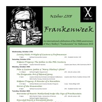 Frankenweek: An international celebration of the 200th anniversary of Mary Shelley's Frankenstein
