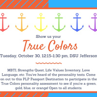 Show us your True Colors PLP Passport Destination