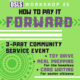 How to Pay It Forward: 3-Part Community Service Event