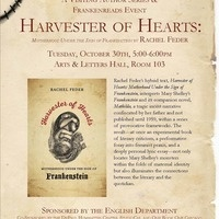 Visiting Author Series: Harvester of Hearts