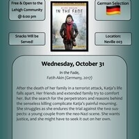 International Film Series - Germany | Modern Languages and Literatures