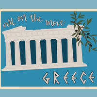 """""""Art on the Move: Greece"""" - LaVerne Krause Gallery Exhibit"""