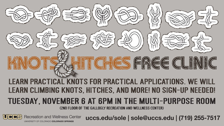Knots and Hitches Clinic