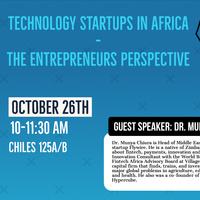 Technology Startups in Africa: The Entrepreneur's Perspective