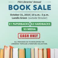 FSU Libraries' Annual Book Sale