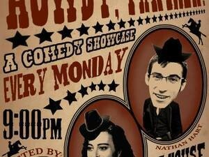 Howdy, Partner! A Stand-Up Comedy Showcase