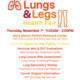 Lungs and Legs Health Fair