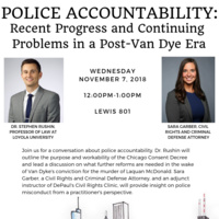 Police Accountability in a Post-Van Dyke Era