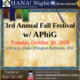 OHANA! Presents 3rd Annual Fall Festival with Alpha Phi Gamma