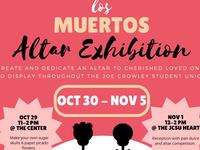 Día de los Muertos Altar Exhibition