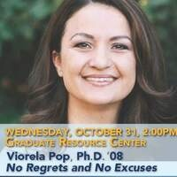 No Regrets and No Excuses - Graduate Alumni Speaker Series