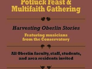 Annual Multifaith Thanksgiving Gathering