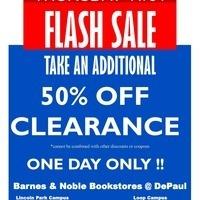50% Off Clearance Apparel Sale