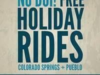 No DUI! Free Holiday Rides in Colorado Springs & Pueblo