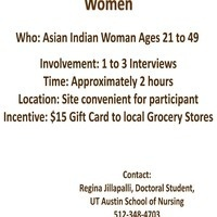 Asian Indian Participants Needed for Cervical Cancer Screening Study