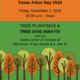 Tree Planting & Giveaway @ UT Orchard