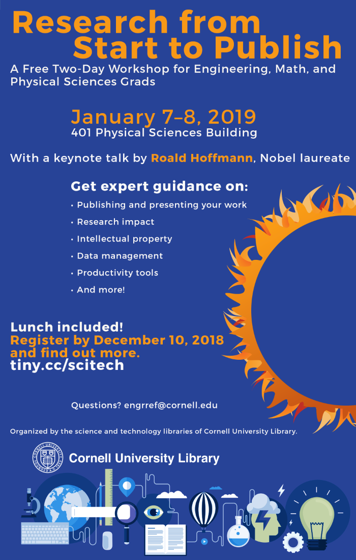 Research from Start to Publish Workshop, 2019 - Cornell