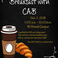 Breakfast with CAB