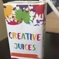 Juice Box and Paint