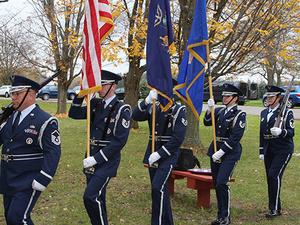 NCCC Veterans Day Ceremony