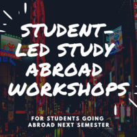 Study Abroad Workshop: Managing Your Finances Abroad