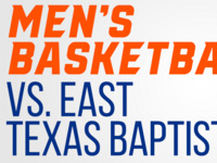 Bearkat Men's Basketball vs. East Texas Baptist