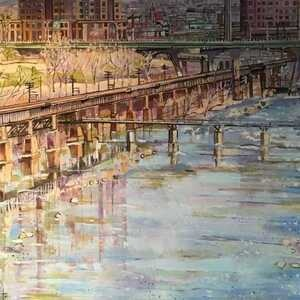 Joanna Tyka: Contradictions--Abstracts and Cityscapes