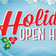 Holiday Open House - Cross Lanes Branch Library